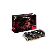 Placa de Vídeo PowerColor RX 570 Red Dragon 4GB 256Bits GDDR5 PCI-E+DL DVI-D+HDMI+DP AXRX 570 4GBD5-DHDV3/OC
