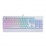Teclado Mecânico Gamer Redragon Kala Branco RGB, Switch Black, ABNT-2, K557W-RGB, PT-BLACK
