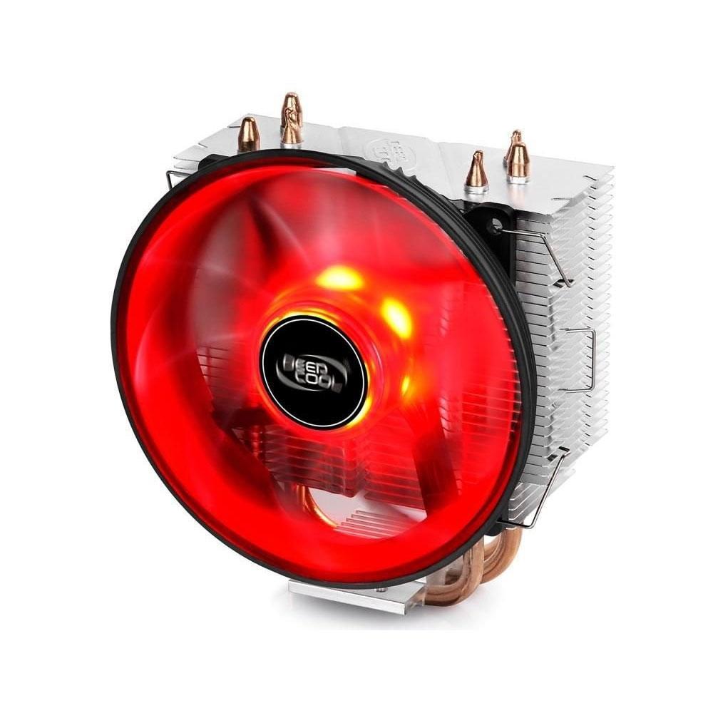 Cooler para Processador Deepcool GAMMAXX 300R AMD/Intel Led Vermelho