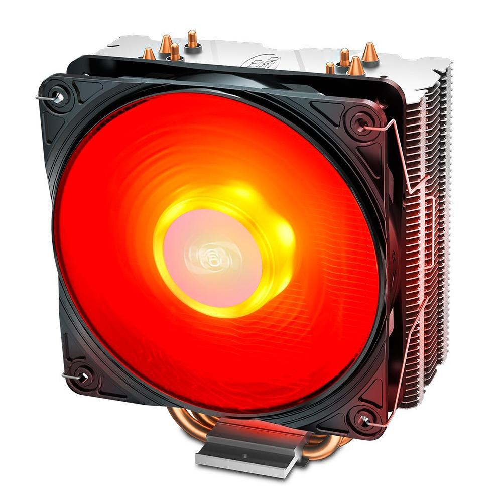 Cooler para Processador DeepCool Gammaxx 400 V2, LED Vermelho, AMD/Intel - DP-MCH4-GMX400V2-RD