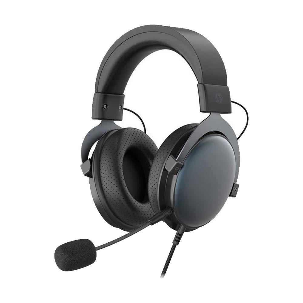 Headset Gamer HP DHE-8005, Estéreo, 3.5MM, Preto, 9NG18AA