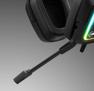 Headset Gamer KWG Taurus M2, RGB, USB, Black