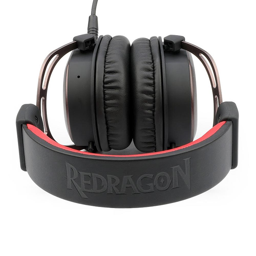 Headset Gamer Redragon Helios, 7.1 Surround, Drivres 50mm - H710