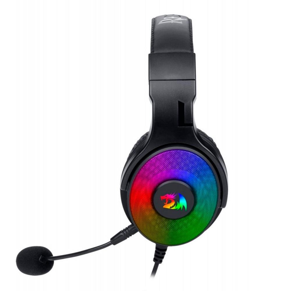 Headset Gamer Redragon Pandora H350RGB (Audio 7.1) - Preto