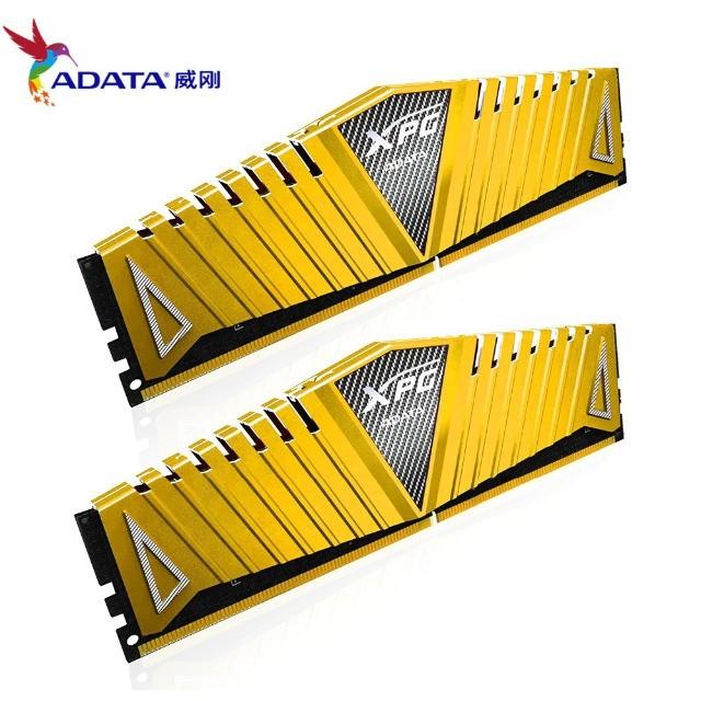 Memória Adata XPG, 16GB (2x 8GB) DDR4, 3200Mhz, Dourada