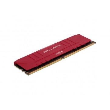 Memória Desktop Gamer Ballistix 8GB DDR4 2666 Mhz - Red