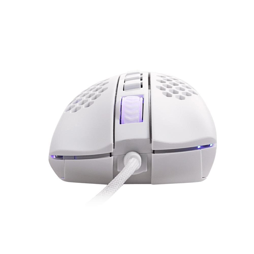 Mouse Gamer Redragon Storm Elite, RGB, 16000DPI, Branco - M988W-RGB