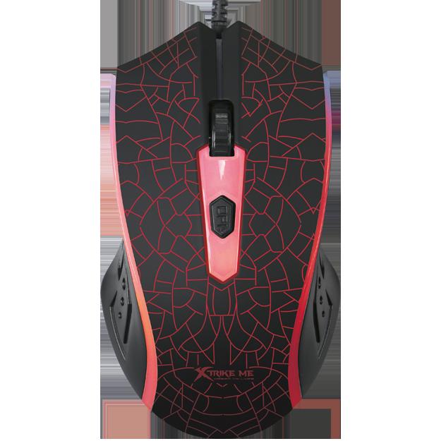 Mouse Gamer Xtrike-me GM-206, 1200 DPI, Com Fio