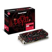 Placa de Vídeo PowerColor RX 580 Red Devil 8GB GDDR5 256 Bits PCI-E+DL DVI-D+HDMI+3DP AXRX 580 8GBD5-3DH/OC