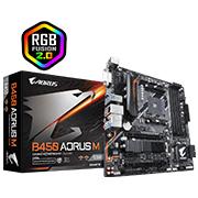 Placa Mãe Gigabyte B450 AORUS M DDR4 AM4 M-ATX (AMD)