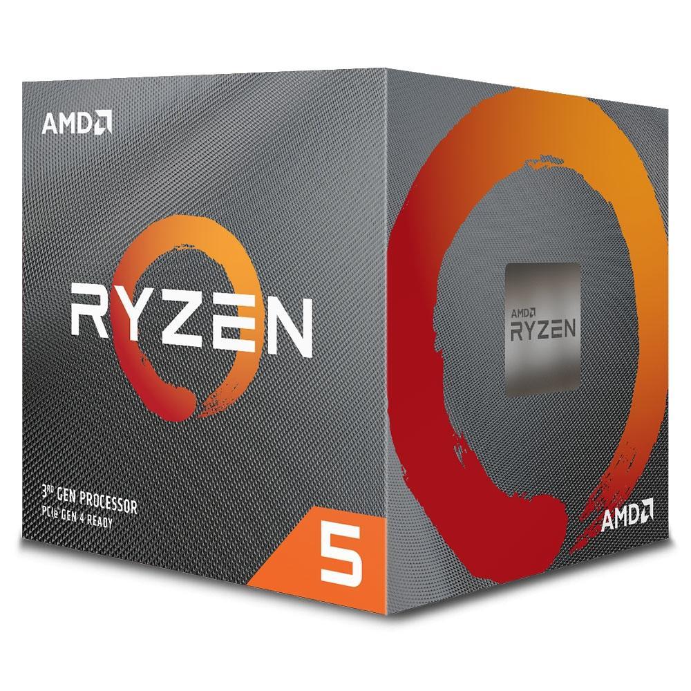 Processador AMD Ryzen 5 3600X Cache 35MB 3.8GHz (4.4GHz Max Turbo) AM4, Sem Vídeo - 100-100000022BOX