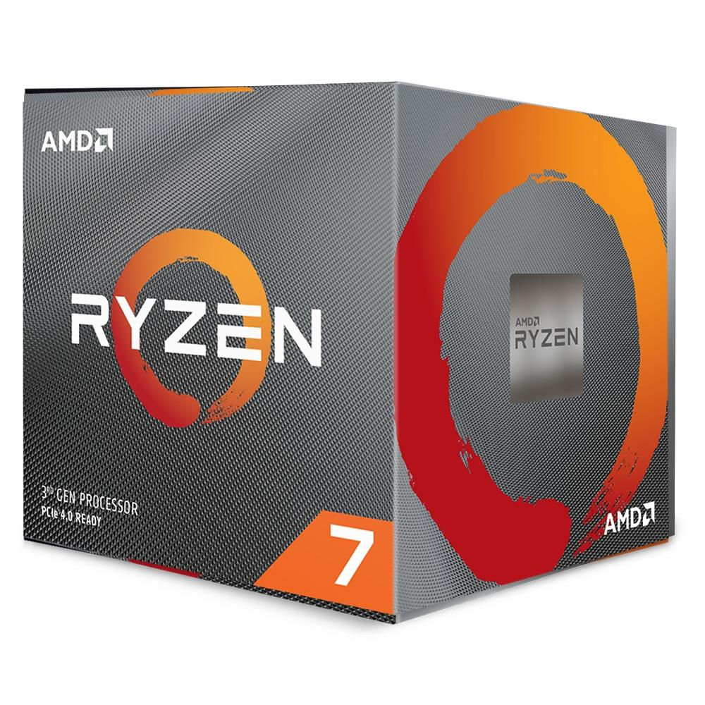 Processador AMD Ryzen 7 3700X 36MB 3.6GHz (4.4GHz Max Turbo) AM4, Sem Vídeo - 100-100000071BOX