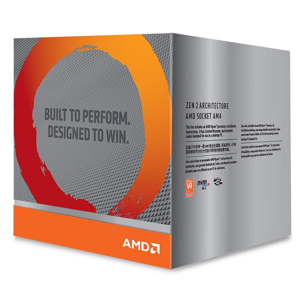 Processador AMD Ryzen 9 3900X Cache 70MB 3.8GHz (4.6GHz Max Turbo) AM4, Sem Vídeo - 100-100000023BOX