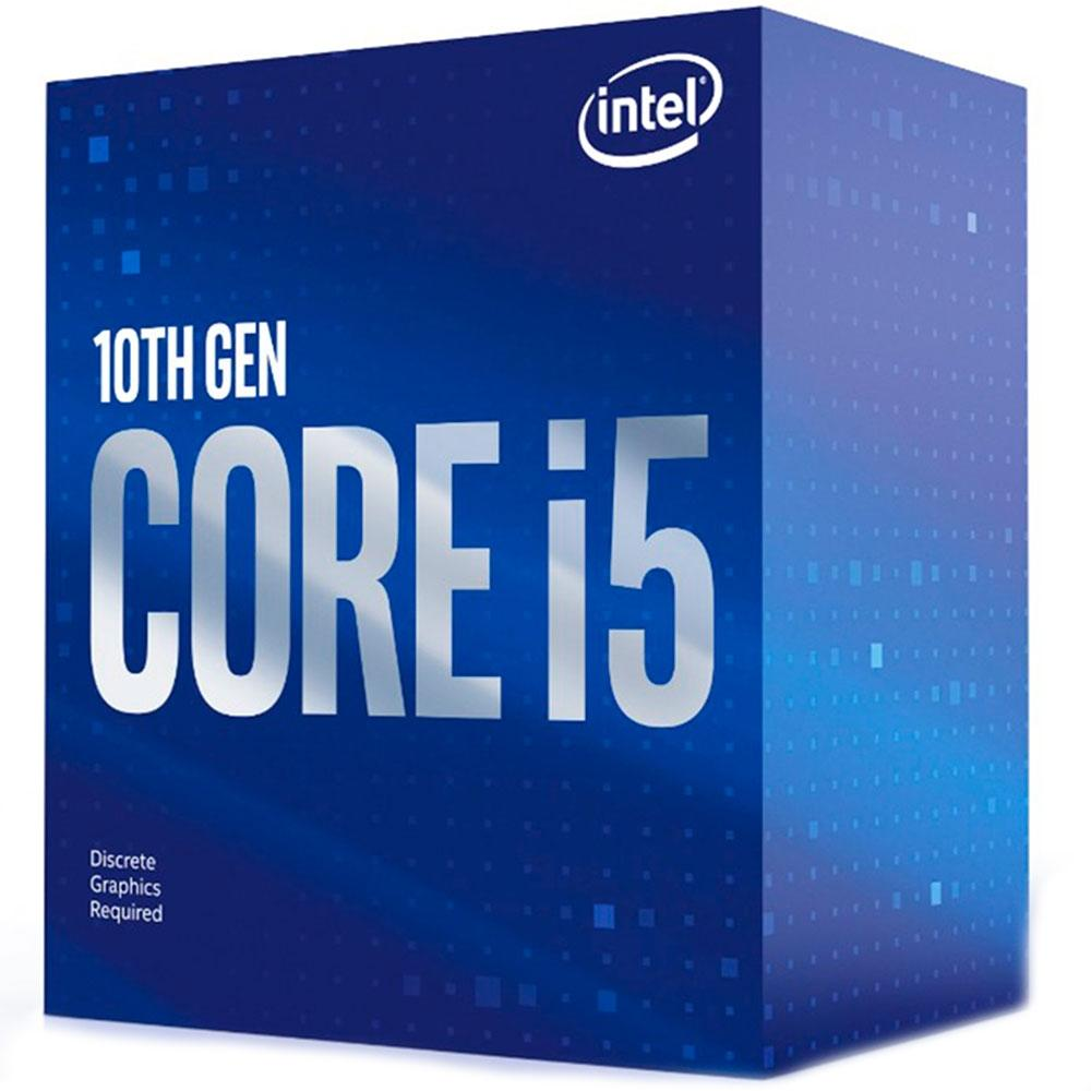 Processador Intel Core i5-10400F, Cache 12MB, 2.9GHz (4.3GHz Max Turbo), LGA 1200 - BX8070110400F