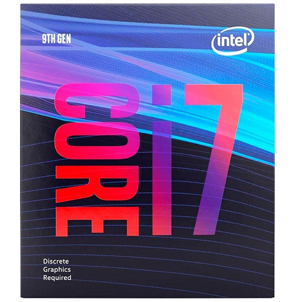 Processador Intel Core i7-9700F Coffee Lake, Cache 12MB, 3.0GHz (4.7GHz Max Turbo), LGA 1151 - BX80684i79700F
