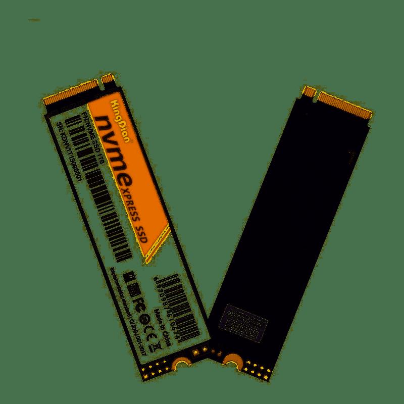 SSD KingDian m2 NVME 256GB 2400MB/s leitura 1700MB/s escrita