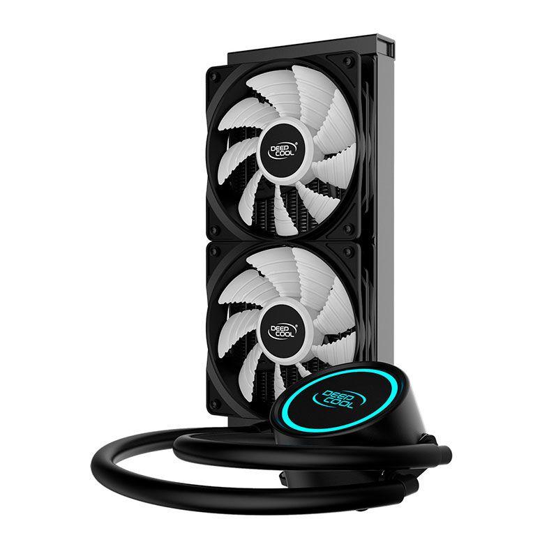 Water Cooler DeepCool Gammaxx Anti-Leak L240T, Led Azul, DP-H12RF-GL240TB