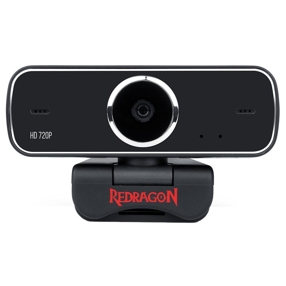 Webcam Redragon Streaming Fobos, HD 720p - GW600
