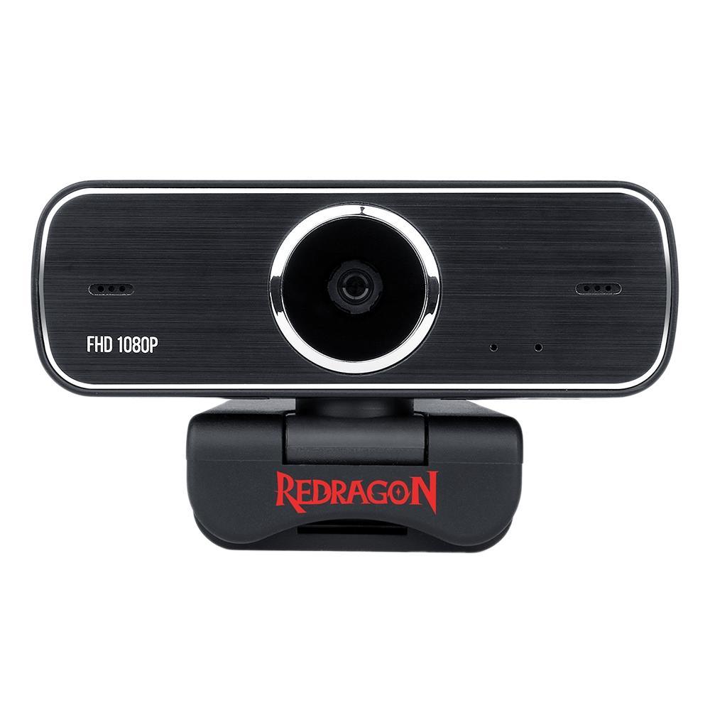 Webcam Redragon Streaming Hitman, Full HD 1080p - GW800