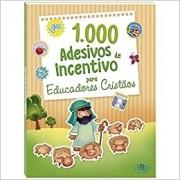 1000 adesivos de incentivo para eduacadores cristãos