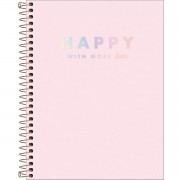 CADERNO COLEGIAL CD TILIBRA 10X1 HAPPY RSA 3055