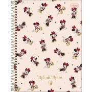 CADERNO UNIVERSITÁRIO CD TILIBRA 10X1 MINNIE 308099
