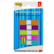 POST-IT 3M FLAGS MARCA PAGINA 5C NEON