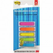 Post-It Flags Seta 5 Cores Neon