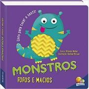 Um livro para tocar e sentir: Monstros fofos e macios