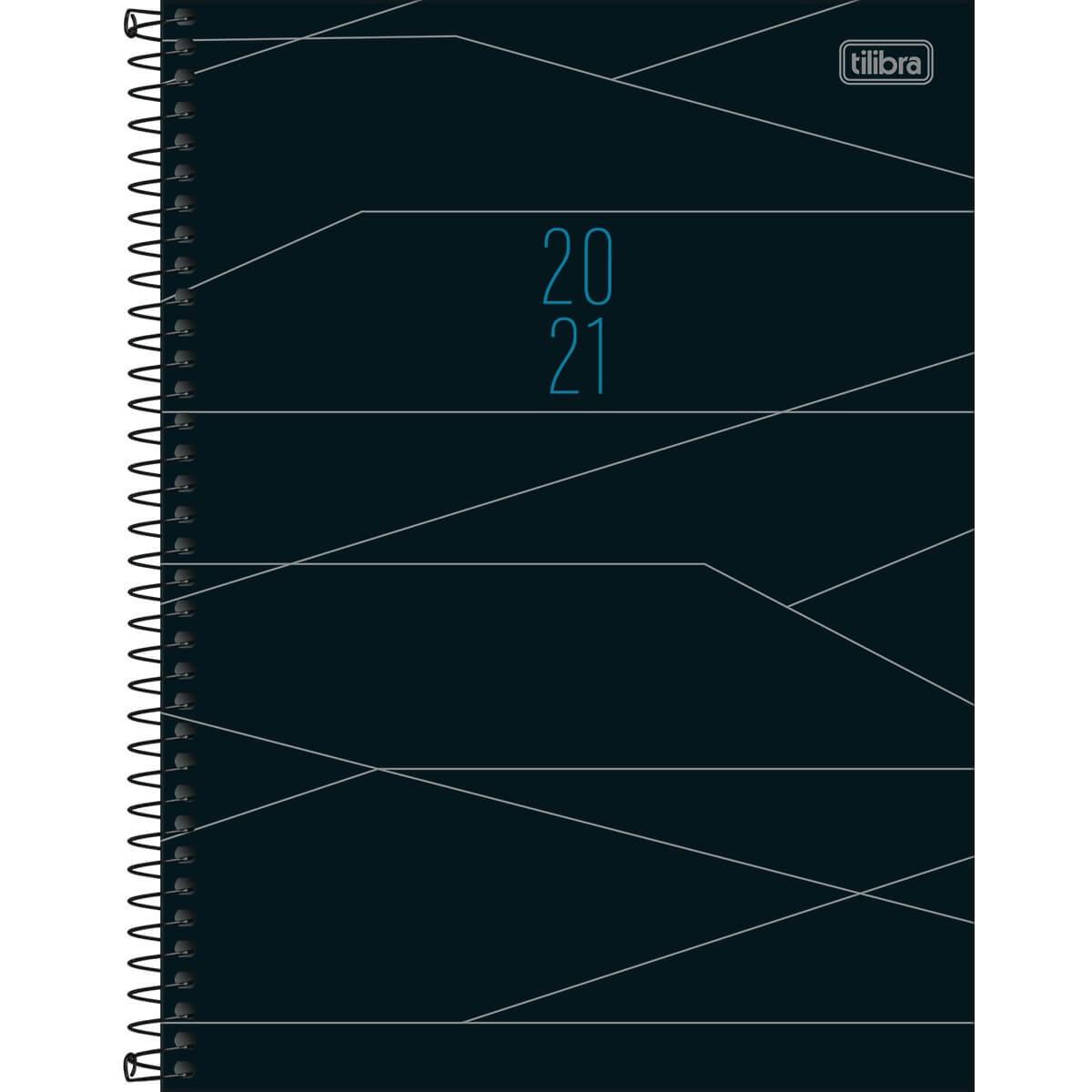 Agenda Executiva Espiral Diária de Mesa Spot 2021