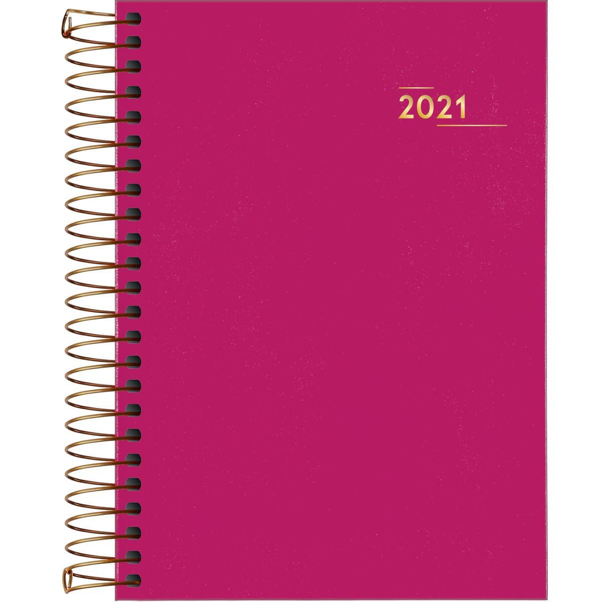 Agenda Executiva Espiral Diária Napoli Feminina 2021