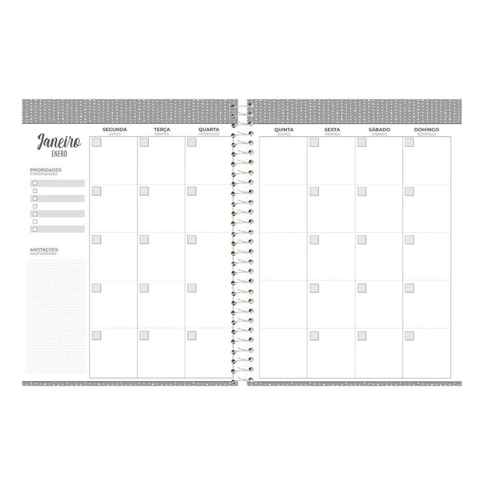 Agenda Planner Espiral Dizai Permanente - Foroni
