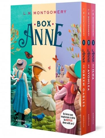 BOX ANNE - ANNE DE GREEN GABLES, ANNE DE AVONLEA E ANNE DA ILHA