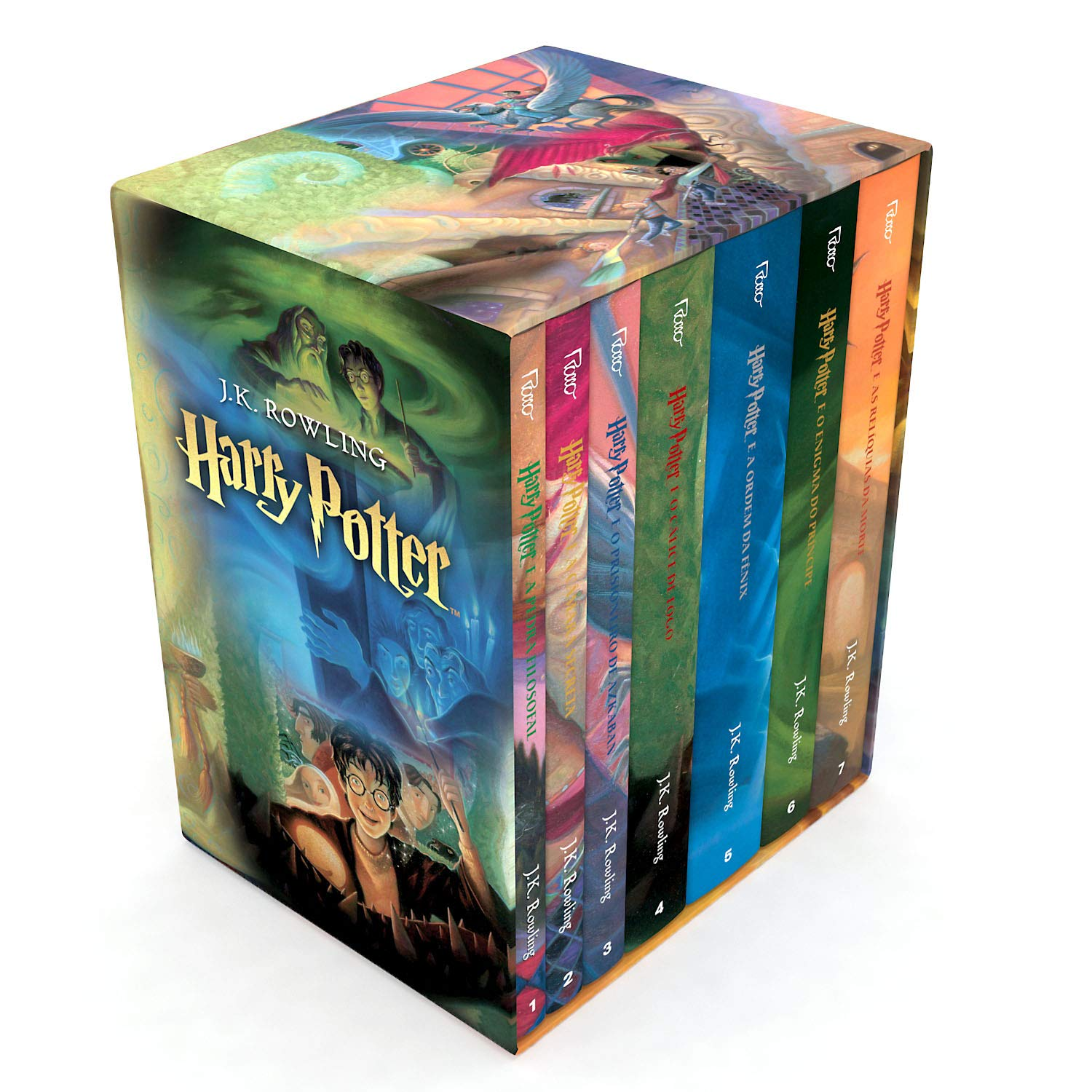 BOX HARRY POTTER TRADICIONAL#VJ