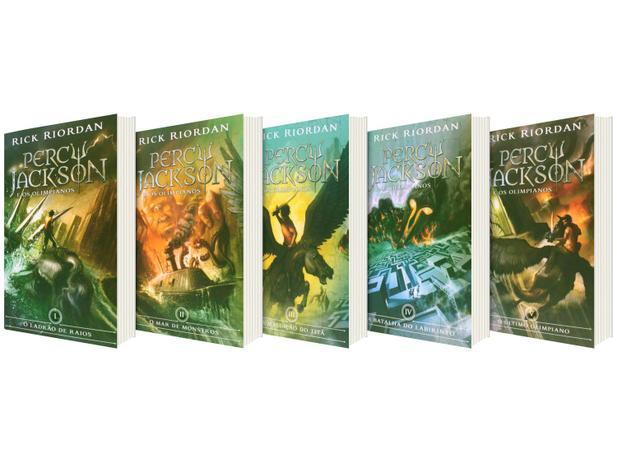 Box Percy Jackson e os Olimpianos: (Série Percy Jackson e os olimpianos)