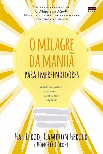 O MILAGRE DA MANHA PARA EMPREENDEDORES
