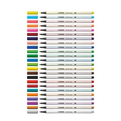 Stabilo Brush Caneta Pen 68 - UNIDADE