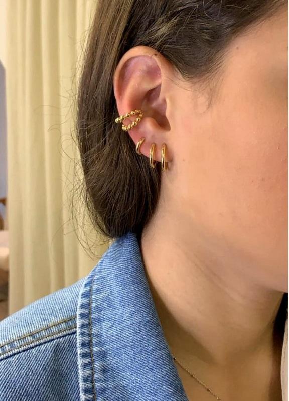 Piercing falso Maria Duplo