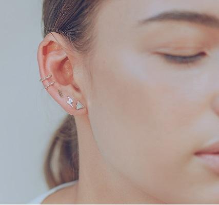 Piercing falso Priscila