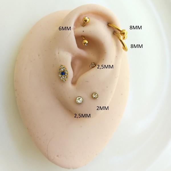 Piercing Microbell Desenhos