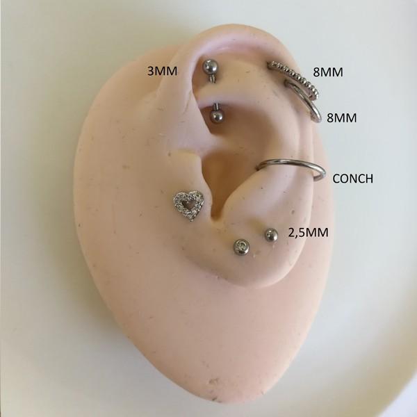 Piercing Microbell Reto