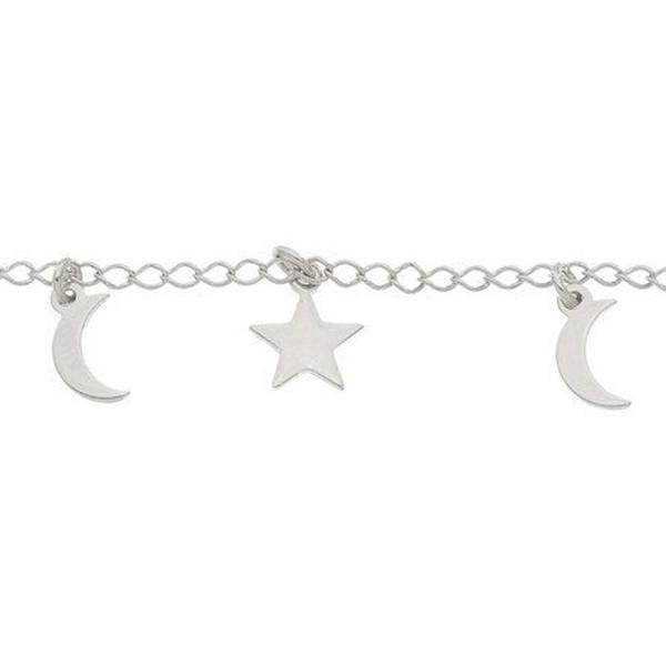 Pulseira Lua e Estrela