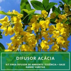 Essência Acácia + Base Perfume - Ganhe Varetas