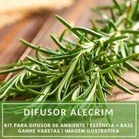 Essência Alecrim Versão Inspirada Le Lis Blanc + Base Perfume