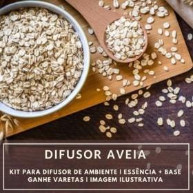 Essência Aveia + Base Perfume - Ganhe Varetas