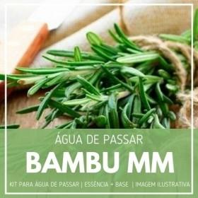 Essência Bambu MMartan + Água de Passar - Ganhe Válvula Borrifadora