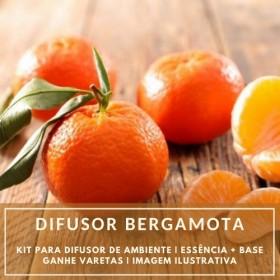 Essência Bergamota + Base Perfume - Ganhe Varetas