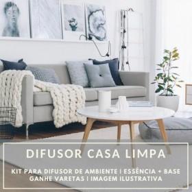 Essência Casa Limpa+ Base Perfume - Ganhe Varetas