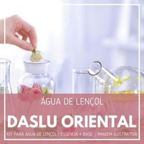 Essência Daslu + Água Lençol - Ganhe Válvula Borrifadora