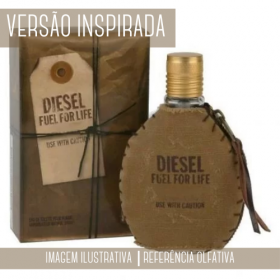 Essência Diesel Fuel For Life Men Contratipo